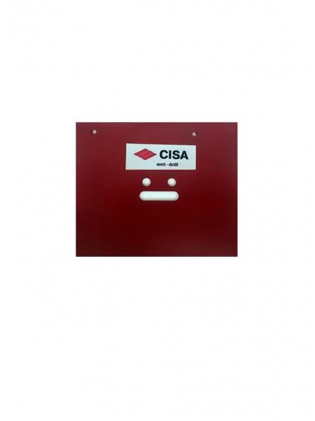 Бронепластина CISA Anti-Drill 120х100х2мм