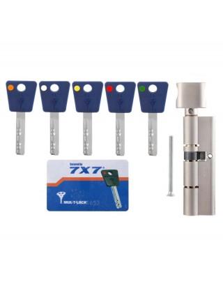 Цилиндр Mul-t-lock 7x7 100 (35x65П) c тумблером