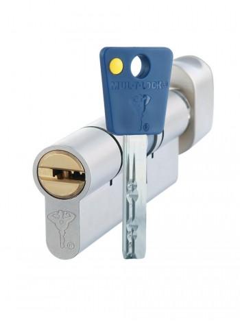 Цилиндр Mul-t-lock 7x7 90 (40x50П) c тумблером