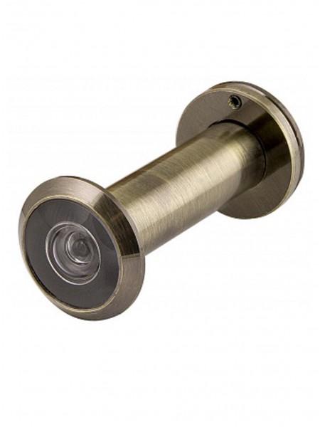 Глазок дверной FUARO DVZ2-16/60-100 AB Бронза (пластиковая оптика)