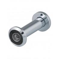 Глазок дверной FUARO DVZ2-16/60-100 CP Хром (пластиковая оптика)